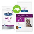 Hill´s Prescription Diet Feline Y/D Schildklierproblemen Kattenvoer Original