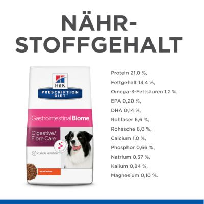 Hill's Prescription Diet Gastrointestinal Biome Hundefutter