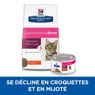 Hill's Prescription Diet Gastrointestinal Biome Mijoté poulet, légumes pour chat