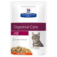 Hill's Prescription Diet i/d Digestive Care храна за котки с пиле