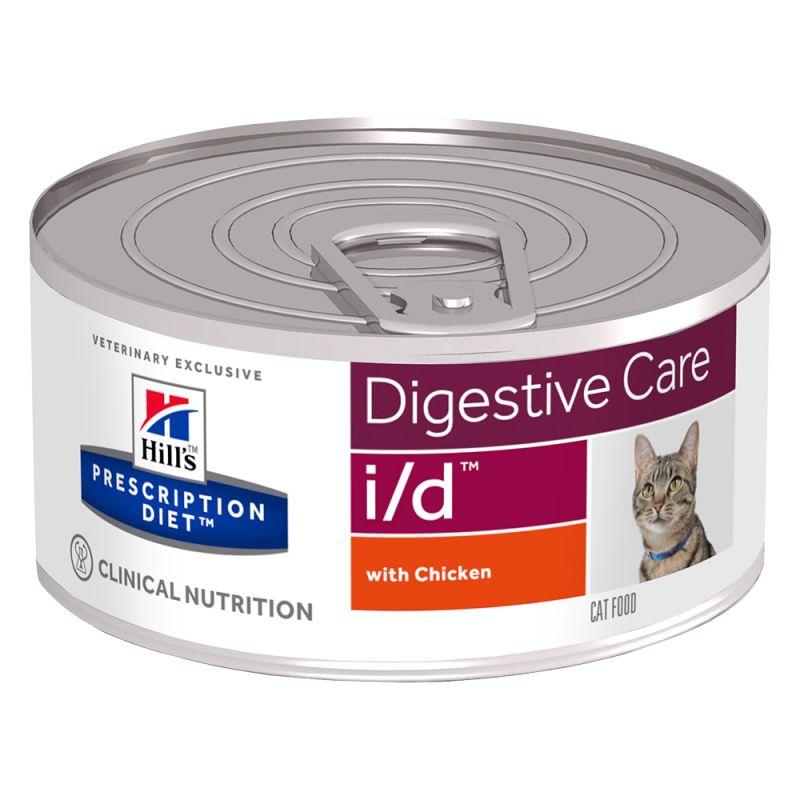Hill's Prescription Diet i/d Digestive Care Hrană pisici, cu pui