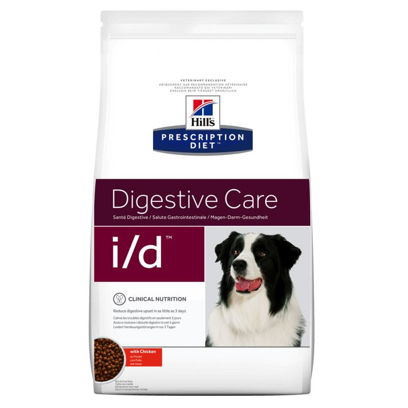 Hill's Prescription Diet i/d Digestive Care hundfoder med kyckling