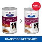 Hill's Prescription Diet i/d Digestive Care Mijoté poulet, légumes pour chien