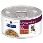 Hill´s Prescription Diet i/d Digestive Care Stew cu pui Hrană pisici