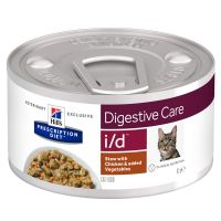 Hill´s Prescription Diet i/d Digestive Care Stoofpotje met Kip Kattenvoer