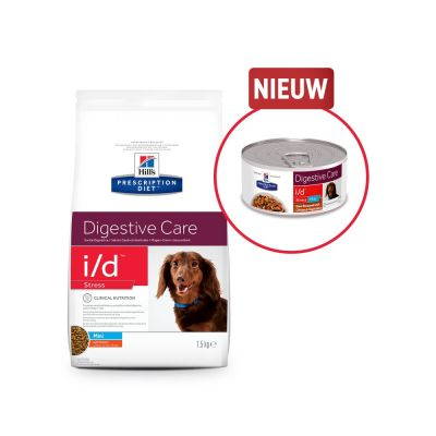 Hill's Prescription Diet i/d Digestive Care Stress Mini Stoofpotje Kip Hondenvoer