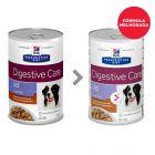 Hill's Prescription Diet i/d Low Fat Digestive Care latas para cães