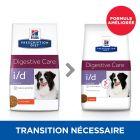 Hill's Prescription Diet i/d Low Fat Digestive Care poulet pour chien