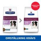 Hill's Prescription Diet i/d Sensitive Digestive Care hundfoder med ägg & ris