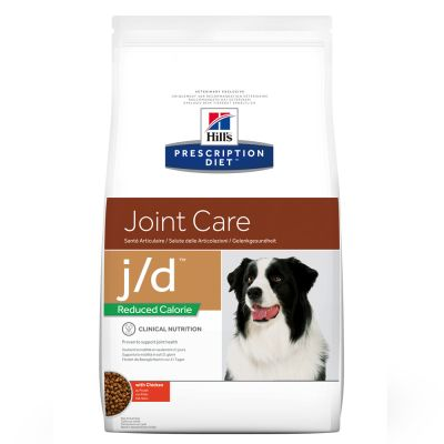 Hill's Prescription Diet j/d Reduced Calorie Joint Care Hundefutter Huhn
