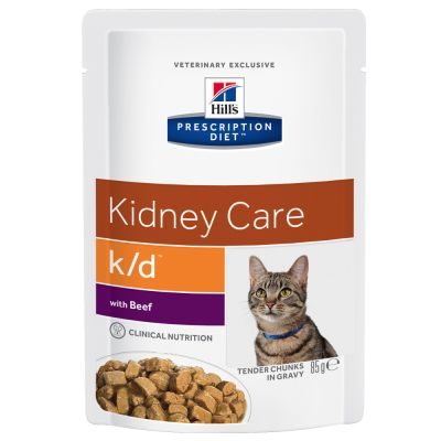 Hill's Prescription Diet K/D Kidney Care, bœuf