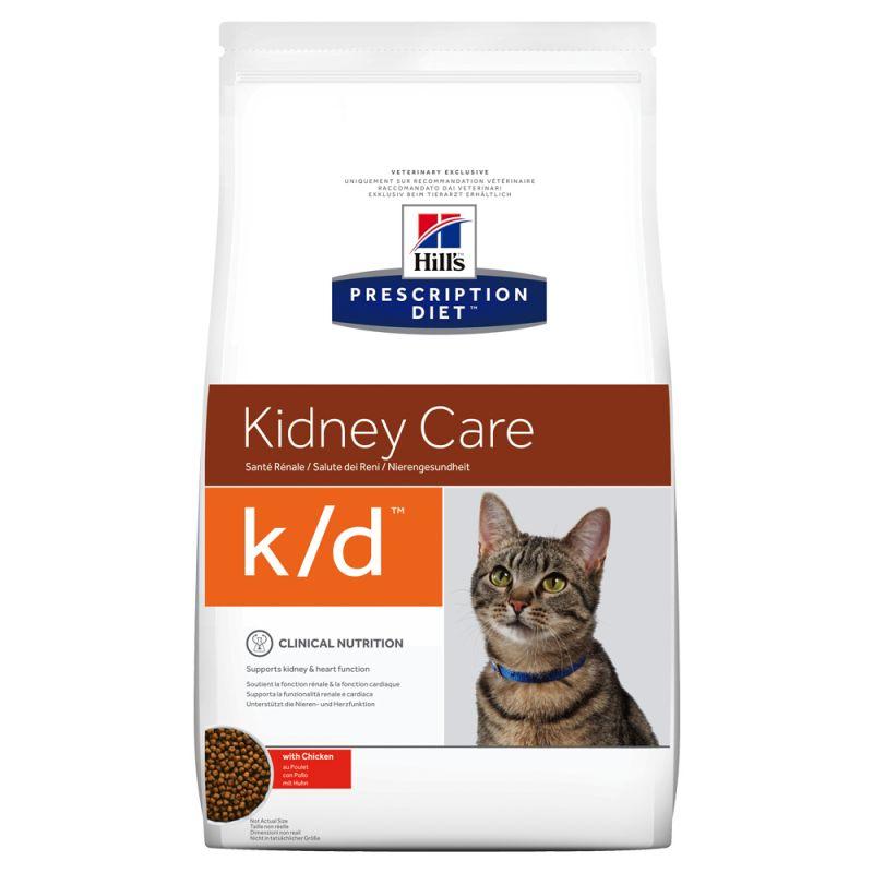 Hill's Prescription Diet k/d Kidney Care csirke macskatáp