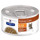Hill's Prescription Diet k/d Kidney Care estufado com frango para gatos