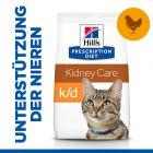 Hill's Prescription Diet k/d Kidney Care Katzenfutter mit Huhn