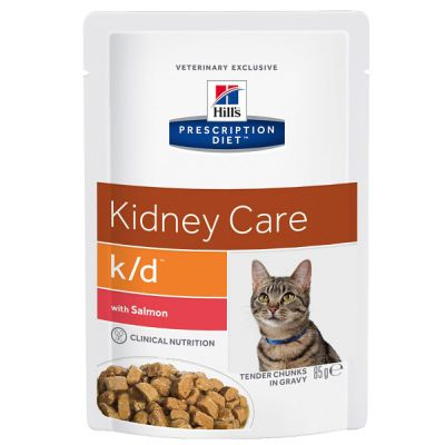 Hill's Prescription Diet k/d Kidney Care Katzenfutter mit Lachs