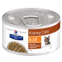 Hill's Prescription Diet k/d Kidney Care Spezzatino Pollo per gatti