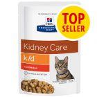 Hill's Prescription Diet k/d Kidney Care umido per gatti - Pollo