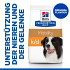 Hill's Prescription Diet k/d + Mobility Kidney + Joint Care Hundefutter Original