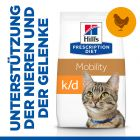 Hill's Prescription Diet k/d + Mobility  Kidney + Joint Care Katzenfutter mit Huhn