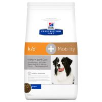 Hill's Prescription Diet k/d + Mobility Kidney + Joint Care secco per cani