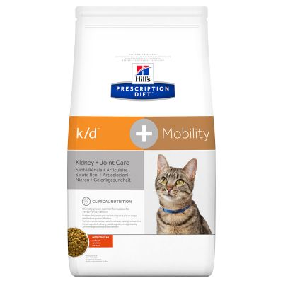 Hill's Prescription Diet k/d + Mobility Kidney + Joint Care secco per gatti