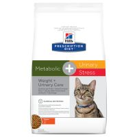 Hill's Prescription Diet Metabolic + Urinary Stress Weight + Urinary Care frango