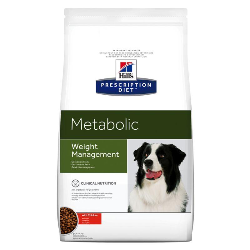 Hill's Prescription Diet Metabolic Weight Management Hundefôr med kylling