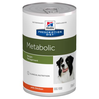 Hill's Prescription Diet Metabolic Weight Management latas para cães