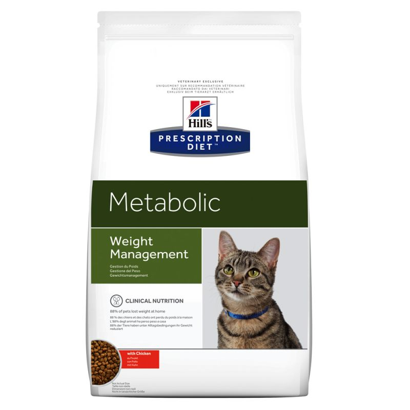 Hill's Prescription Diet Metabolic Weight Management poulet pour chat