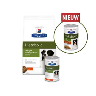 Hill's Prescription Diet Metabolic Weight Management Stoofpotje met Kip Hondenvoer