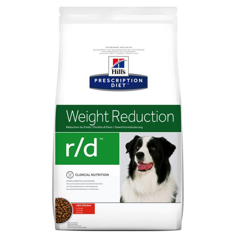 Hill's Prescription Diet r/d Weight Reduction ração para cães com frango