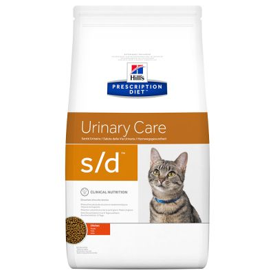 Hill´s Prescription Diet S/D Urinary Dissolution Kattenvoer met Kip