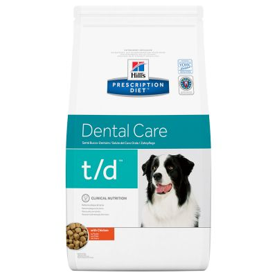 Hill's Prescription Diet t/d Dental Care Hundefutter mit Huhn
