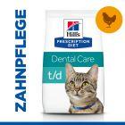 Hill's Prescription Diet t/d Dental Care Katzenfutter mit Huhn