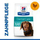 Hill's Prescription Diet t/d Mini Dental Care Hundefutter mit Huhn