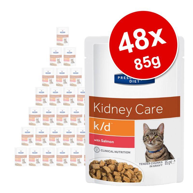 Hill's Prescription Diet umido per gatti in busta 48 x 85 g