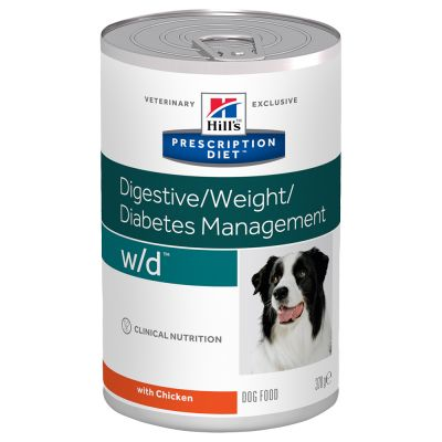 Hill's Prescription Diet w/d Diabetes Care poulet pour chien