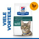 Hill's Prescription Diet w/d Digestive/Weight Management Katzenfutter mit Huhn