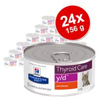 Hill's Prescription Diet 24 x 156 g en latas para gatos - Pack Ahorro