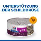 Hill's Prescription Diet y/d Thyroid Care Katzenfutter mit Huhn