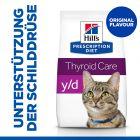 Hill's Prescription Diet y/d Thyroid Care Katzenfutter Original