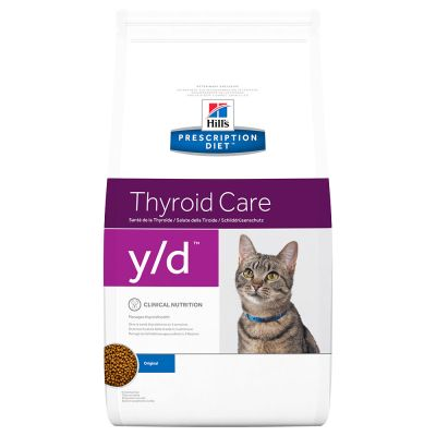 Hill´s Prescription Diet Y/D Thyroid Health Kattenvoer Original