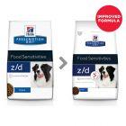 Hill's Prescription Diet z/d Food Sensitivities Τροφή Σκύλων