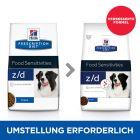 Hill's Prescription Diet z/d Food Sensitivities корм для собак