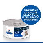 Hill's Prescription Diet z/d Food Sensitivities Alimento umido per gatti