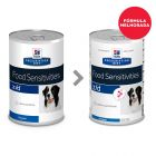 Hill's Prescription Diet z/d Food Sensitivities latas para cães