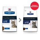 Hill's Prescription Diet z/d Food Sensitivities ração para gatos