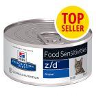 Hill's Prescription Diet z/d Food Sensitivities umido per gatti