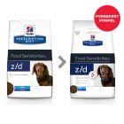 Hill's Prescription Diet z/d Mini Allergy & Skin Care Hundefôr Original
