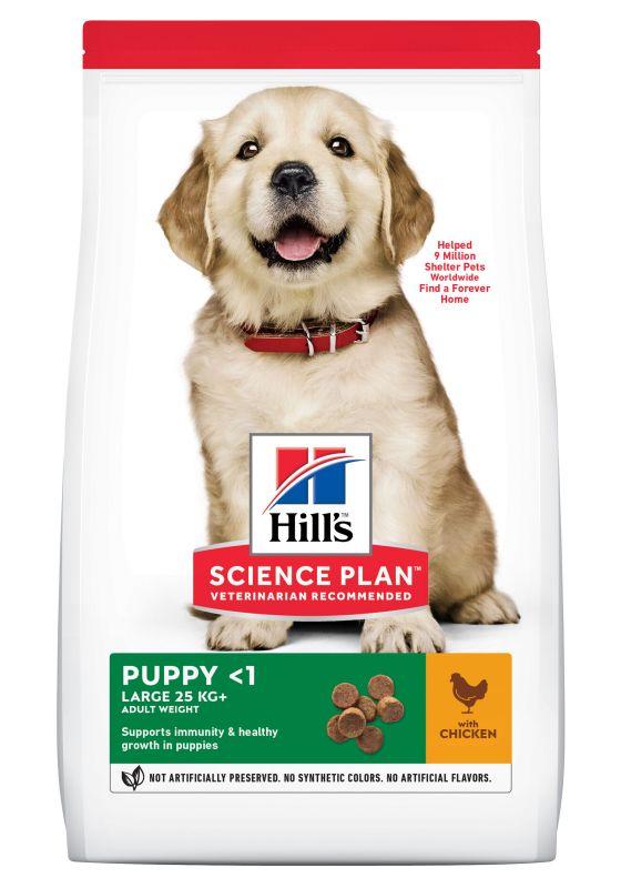 Hill's Puppy <1 Large Science Plan con pollo